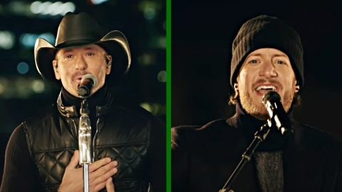 "Tim McGraw & Tyler Hubbard Perform ""Undivided"" At Inauguration 