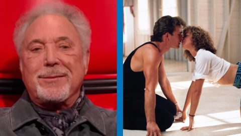 """80-Year-Old Tom Jones Belts Out """"Dirty Dancing"""" Song   Country Music Videos"""