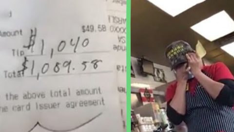 Man Eats 18 Waffles At Waffle House & Leaves Waitress $1,040 Tip | Country Music Videos