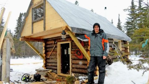 Man Builds Log Cabin With $500   Country Music Videos