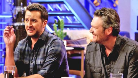 "Blake Shelton Makes Fun Of Luke Bryan's Underwear Ad: ""It's Disgusting"" 