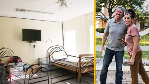 Chip & Joanna Gaines Take On First-Ever Fixer Upper For Girls Shelter | Country Music Videos