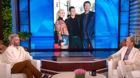 """Adam Levine Says He """"Doesn't Support"""" Blake & Gwen's Marriage 