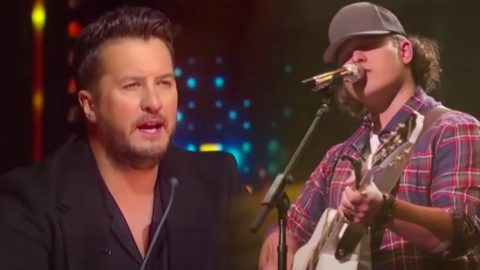 """Luke Bryan Caught Singing Along With """"Idol"""" Contestant's Chris Stapleton Cover 