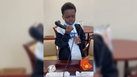 9-Year-Old Goes Viral After Singing National Anthem Over School Intercom | Country Music Videos