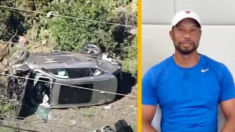 Police Unveil Cause Of Tiger Woods' Car Crash – Speeding 45 MPH Over Limit | Country Music Videos