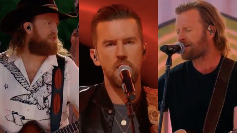 CMT AWARDS: Dierks Bentley Joins Brothers Osborne For 'Lighten Up' Performance | Country Music Videos