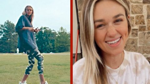 """Sadie Robertson Shows Off Dance Moves To """"Rapper's Delight""""   Country Music Videos"""