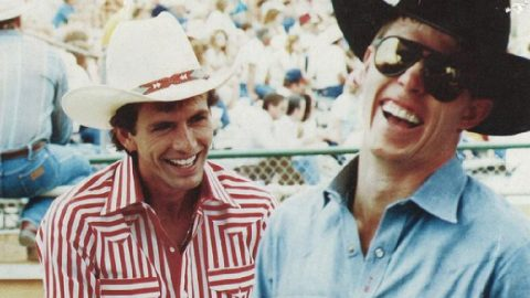 """How Tuff Hedeman Honored Lane Frost Following His Death, """"He Was One Of A Kind"""" 