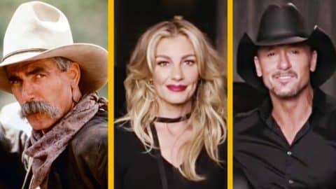 'Yellowstone' Prequel Casts Tim McGraw, Faith Hill & Sam Elliott To Headline Show | Country Music Videos