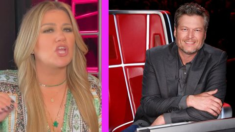 Kelly Clarkson Reacts To Blake Shelton Saying She Doesn't Know Country Music | Country Music Videos