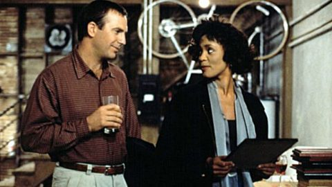 """Kevin Costner, Whitney Houston Film """"The Bodyguard"""" Getting A Remake 